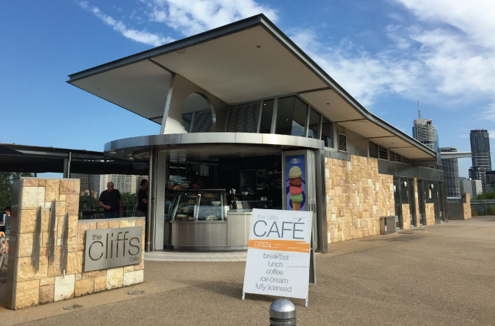 Cliffs Cafe Brisbane