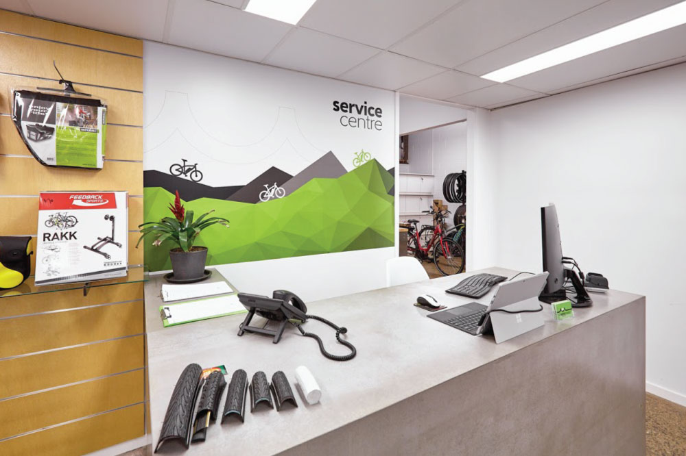 Electric Bikes Brisbane - Service Centre Counter