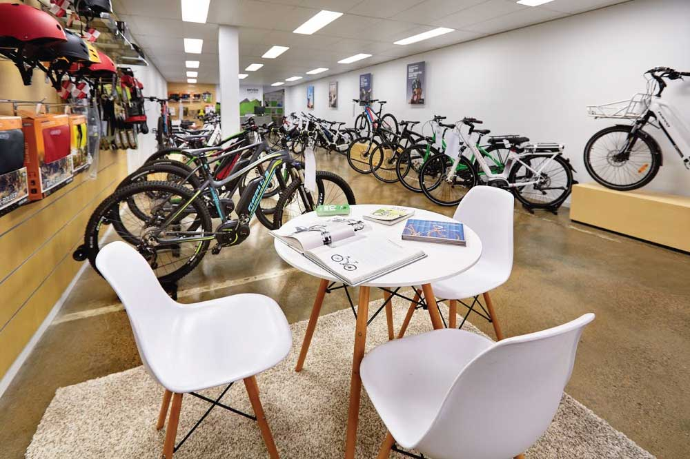 Electric Bikes Brisbane - Shop Inside