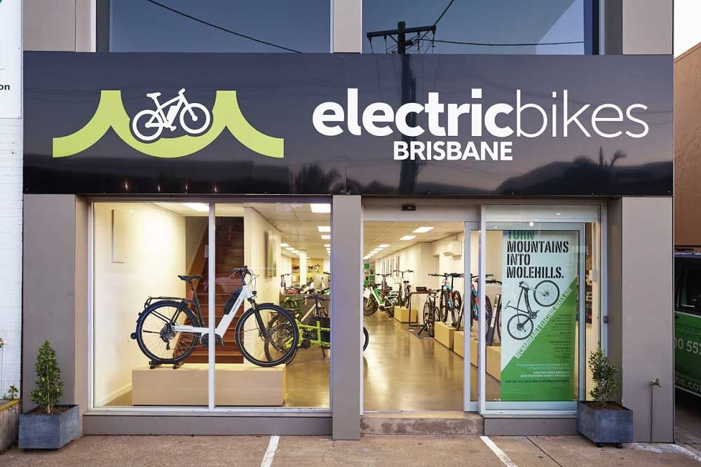 Electric Bikes Brisbane - Shop Outside