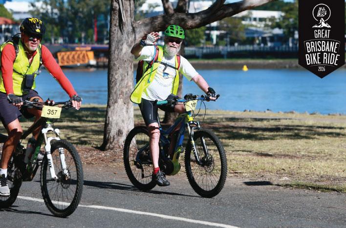 Haibike Electric Bike At Great Brisbane Bike Ride