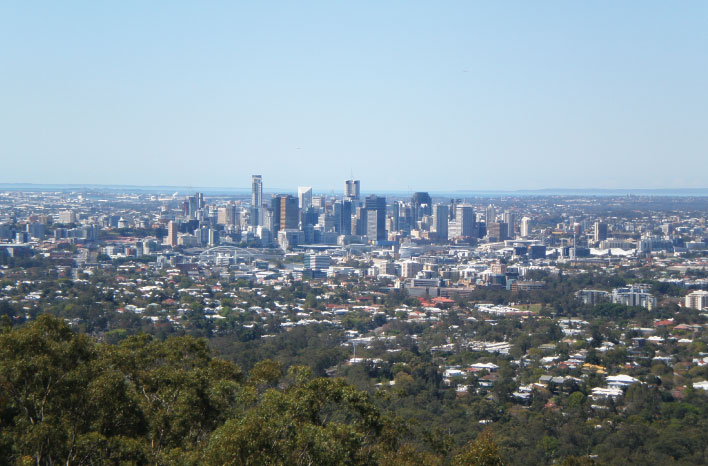 Mt Coottha Lookout Brisbane