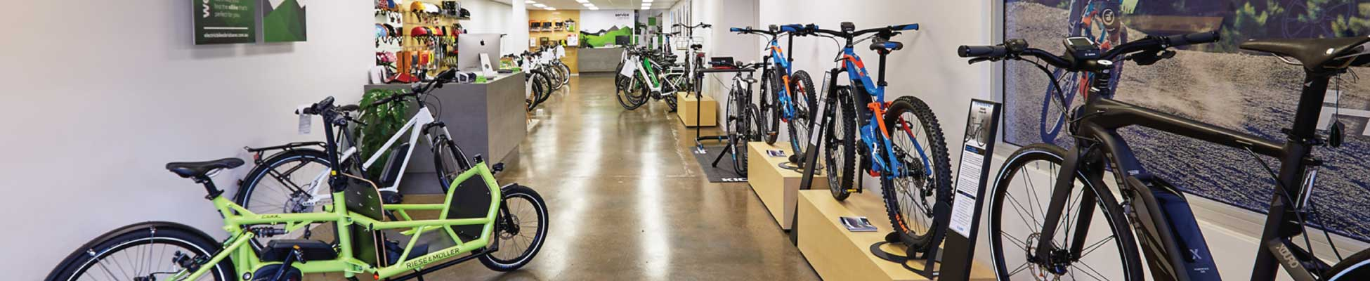 Electric Bikes Brisbane - Milton Showroom